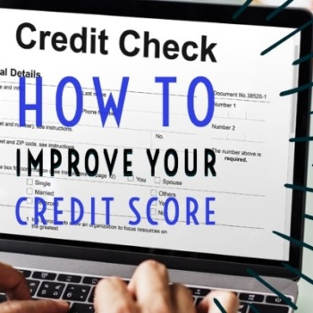 Improve your credit score and maximize your credit utilization