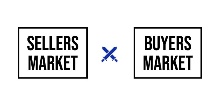 Sellers markets vs buyers market