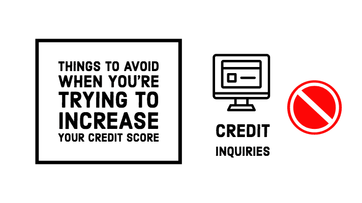 Credit inquires
