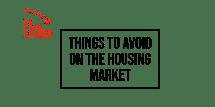 Avoid the sellers market